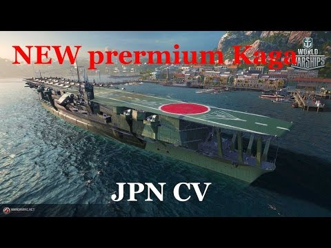 NEW premium Japanese aircraft carrier Kaga- Stats