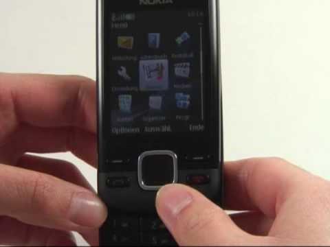 Nokia 6600i Test Bedienung