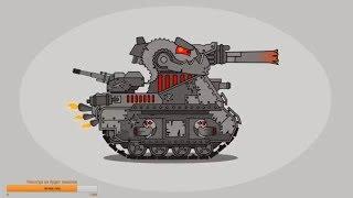 Рисуем кв-44 М Мультики про танки