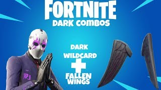 FORTNITE DARK REFLECTION SKIN COMBOS!
