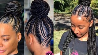 💚💚💚 Gorgeous Cornrow Braiding Hairstyles Tutorial Compilation 2020 || How To Cornrow Hairstyles