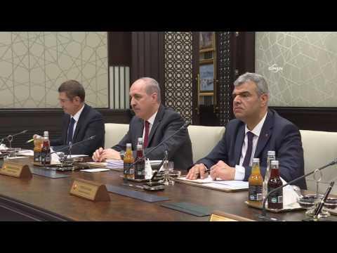 65. Hükümet'in ilk Bakanlar Kurulu, Beştepe'de toplandı