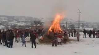 Obiceiuri de iarna Stauceni Botosani 01.01.2015