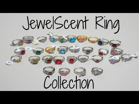 JewelScent Ring Collection Part 1 - 31 Rings!