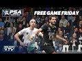 """It's a masterful display of skills!"" - Free Game Friday - Gawad v Farag - Black Ball Open 2018"