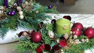 Aromatyczny Salonik - Stroik świąteczny