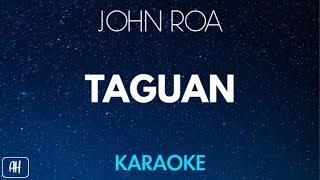 John Roa - Taguan (Karaoke/Acoustic Instrumental)