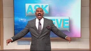 Ask Steve - Donald Trump isn't that bad || STEVE HARVEY