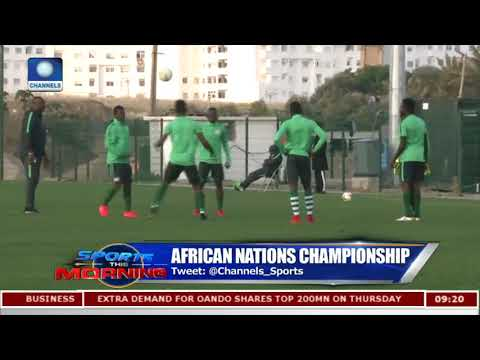 Home Eagles Hailed As Ezenwa Gets Man Of The Match After Angola Thrashing Pt.1 |Sports This Morning|