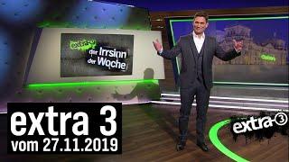 Extra 3 vom 27.11.2019