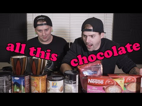 hot chocolate taste test (surprising)