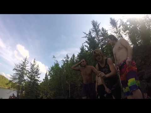 Unreal Cliff Jumping Eveleth, Minnesota