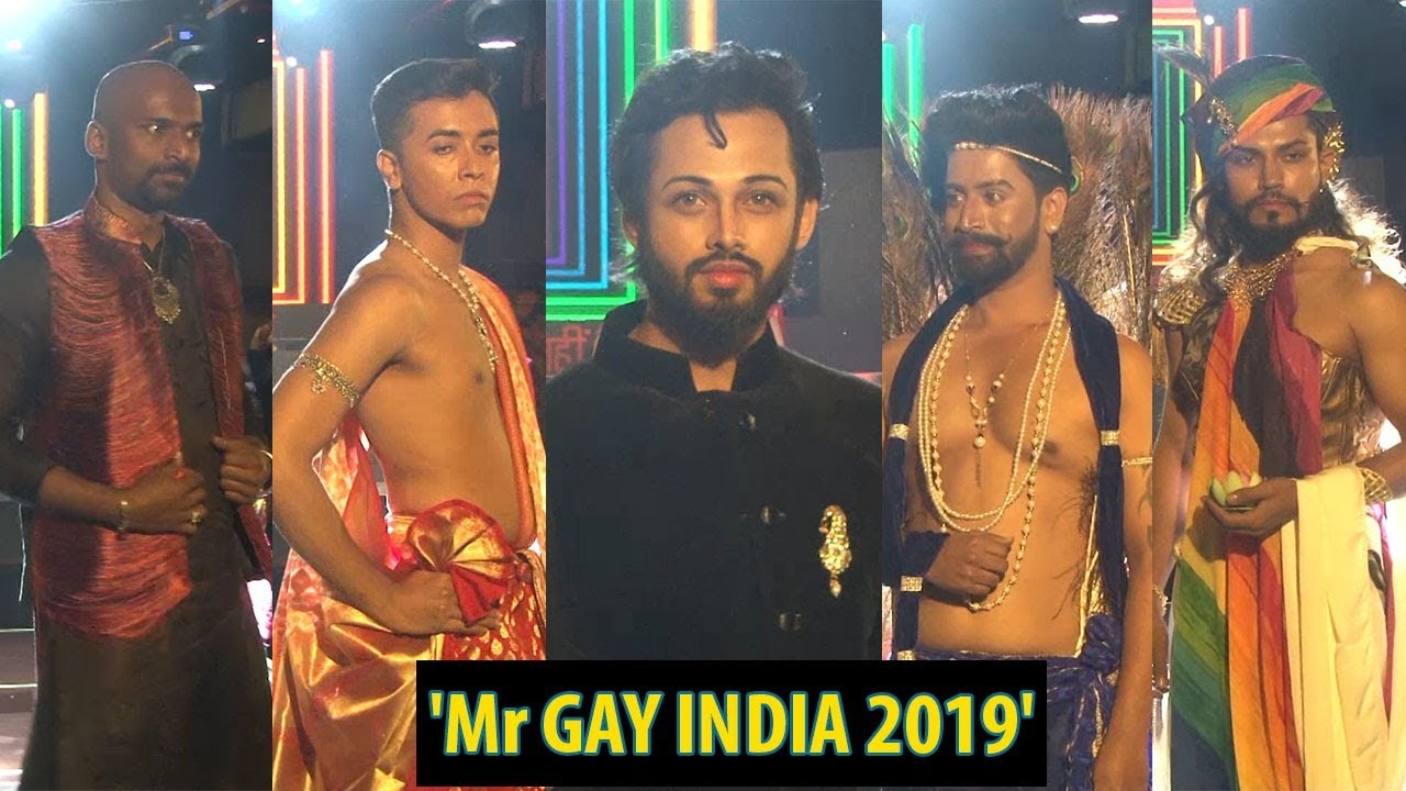 Crowning of 'Mr GAY INDIA 2019' with Celina Jaitley
