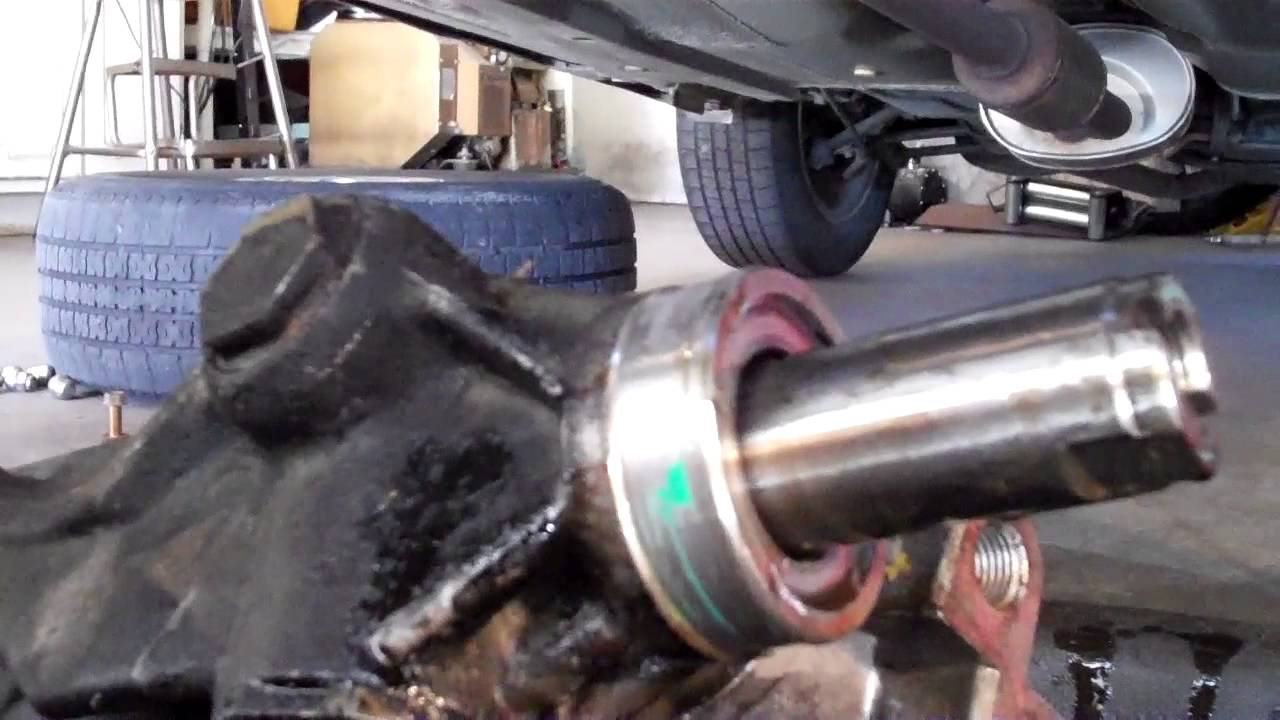 How to Replace a Rack and Pinion in a Honda Accord - YouTube