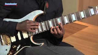 ibanez tam100 tosin abasi signature 8 string guitar demo sweetwater sound
