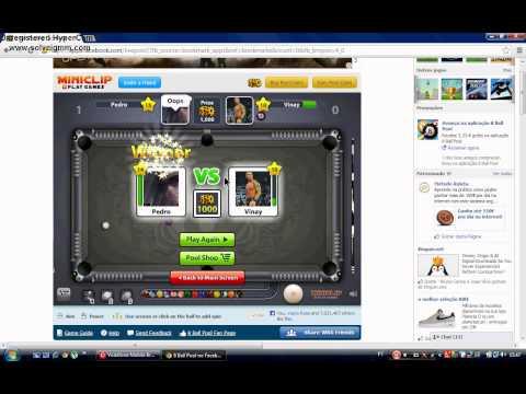 Neutral qual é o GamePlay de Hoje:Prosidade no 8Ball Pool !!!