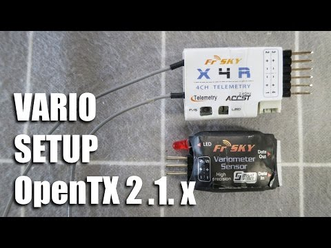 FrSky Vario setup OpenTX 2 1