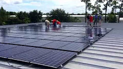 Work In Progress: 528 panel installation in Naples, FL. See how solar for business is installed!