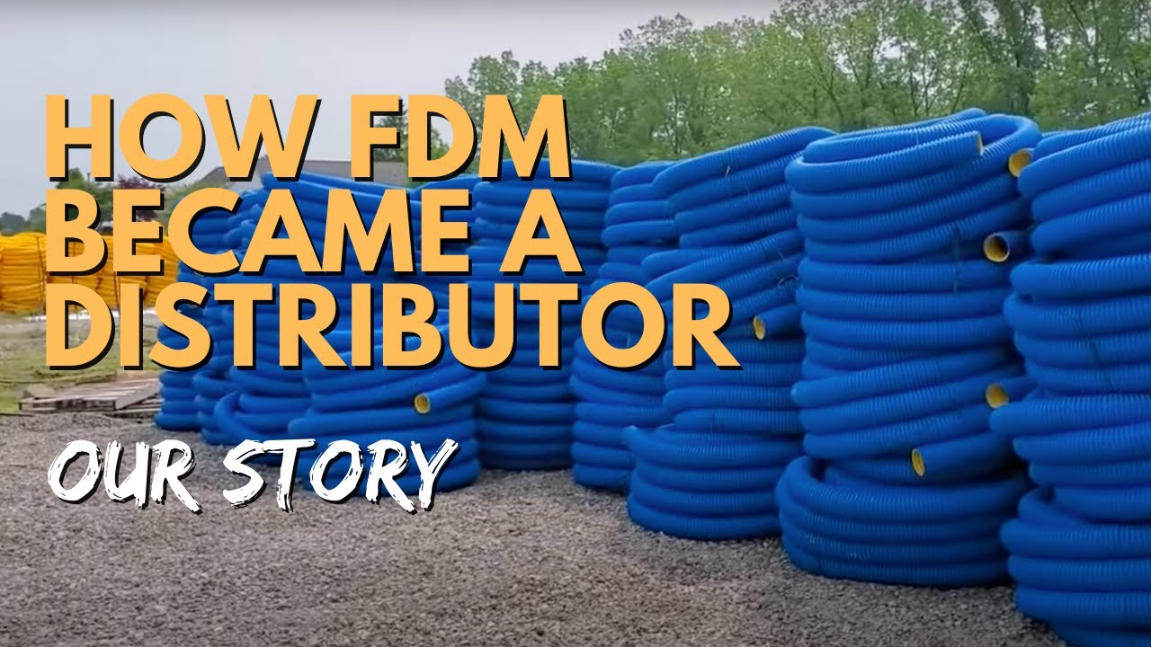 how the french drain man became a baughman tile distributor