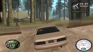 GTA San Andreas - PC - Gameplay e fazendo missão - Comentado