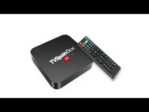 Free live UK TV in TV Spain Box