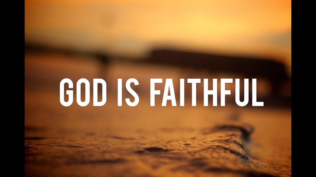 V Letter 3d Wallpaper God Is Faithful Christian Inspirational Video Youtube