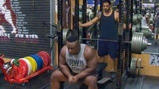 Big E sets bench press record at John Cena's gym: WWE 24 sneak peek