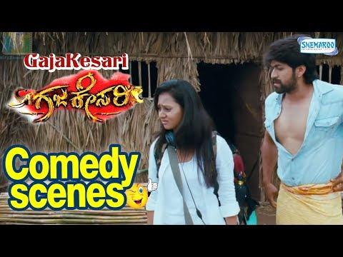 GajaKesari Kannada Movie Sakkath Comedy-Yash|Sadhu kokila|Amulya