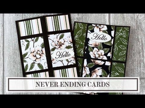 Endless Folding Card Tutorial (Never Ending Card)