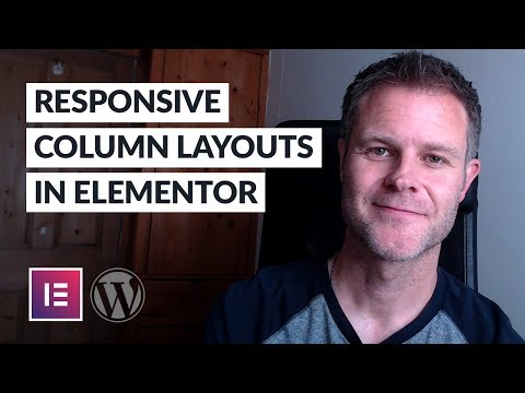 How to Control Responsive Column Layouts in Elementor—REVISITED