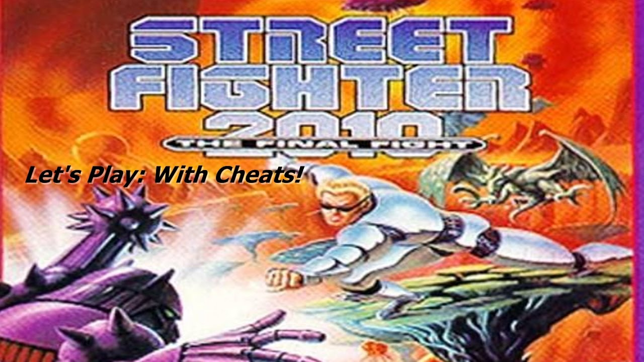 Let S Play Street Fighter 2010 The Final Fight With Cheats