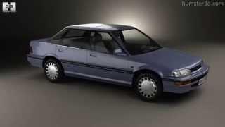 Honda Concerto (MA) sedan 1988 by 3D model store Humster3D.com