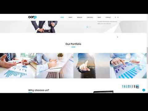 Corp Responsive Corporate Business HTML5 Template        Cree Johnnie
