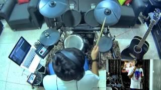 Download Hindi Video Songs - Coke Studio- A.R Rahman- Zariya(Drum Cover)Parth Saini