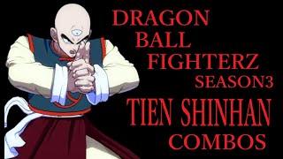 【S3】DRAGON BALL FIGHTERZ TIEN SHINHAN BASIC COMBOS【ドラゴンボールファイターズ 天津飯 基礎コンボ】