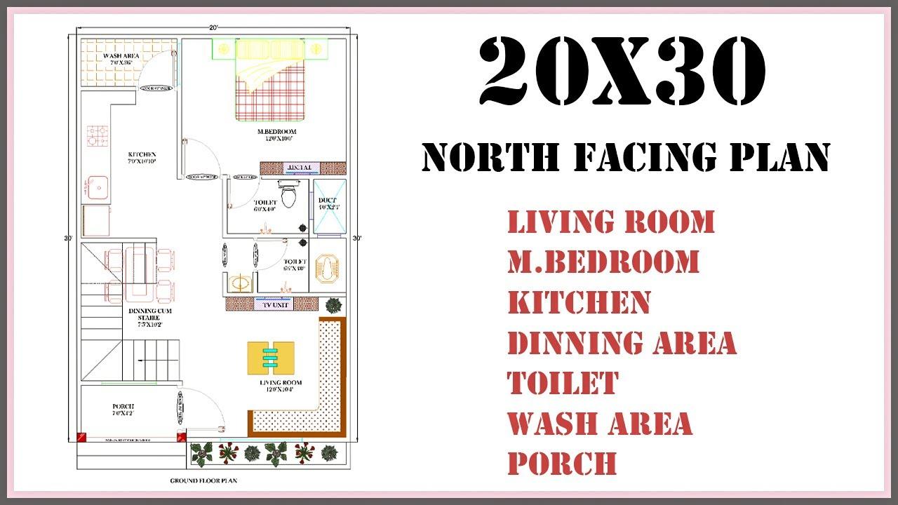 20x30 House Plan Youtube