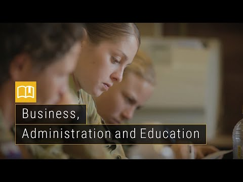 Army - Business, Administration and Education Careers