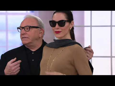 Linea by Louis Dell'Olio Whisper Knit Swing Sweater on QVC