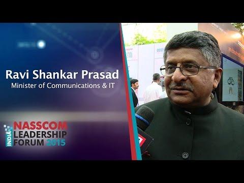 Ravi Shankar Prasad, Union Minister, Ministry Of Communications & IT, Govt. of India