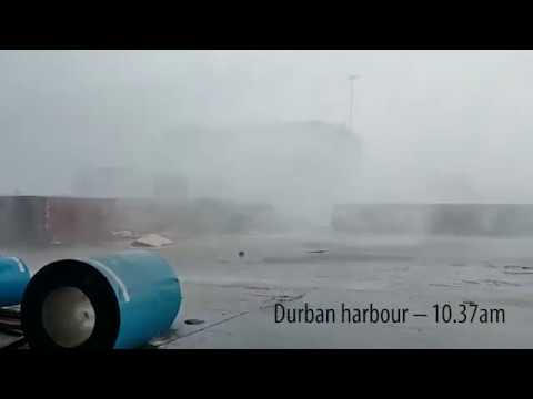 Massive storm hits Durban; widespread flooding