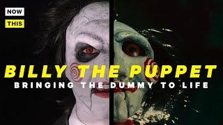 Bringing Billy the Puppet to Life | Dead Ringer #4 | NowThis Nerd