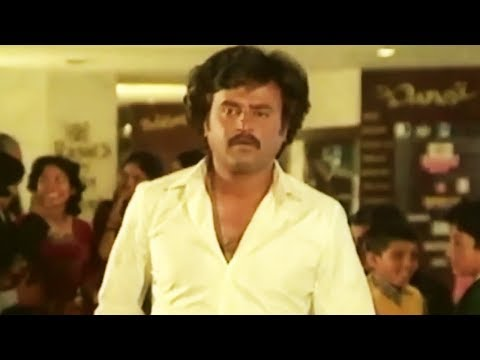 Rajni's first visit to five star hotel - Classic Tamil Comedy | Velaikaran