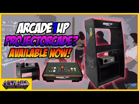 Arcade1Up ProjectorCade? Available Now! from MichaelBtheGameGenie