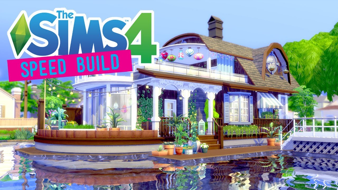 How To Build Houseboat Sims