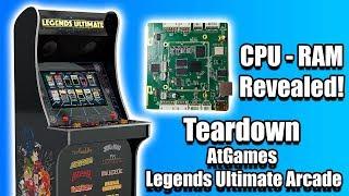 CPU Revealed! AtGames Legends Ultimate Arcade Mainboard Teardown