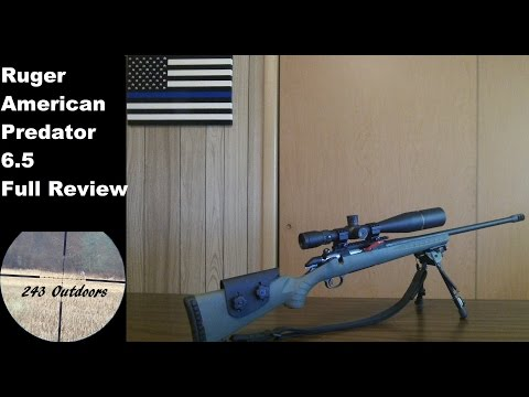 Ruger American Predator 6.5 Creedmoor Full Review