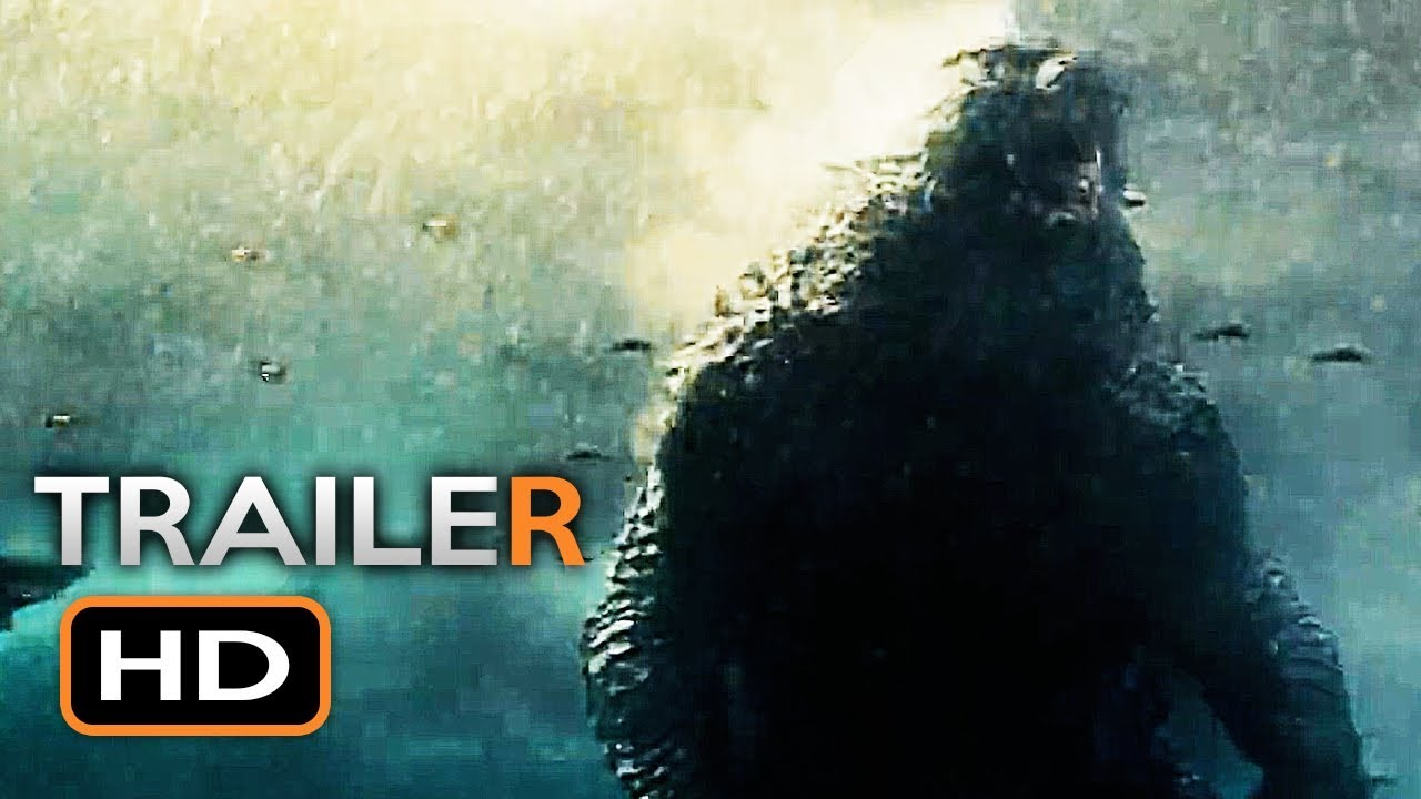 Godzilla 2 Official Trailer 2019 King Of The Monsters Millie Bobby Brown Sci Fi Movie Hd