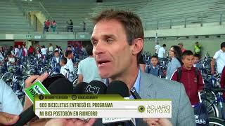 600 bicicletas entregó el programa Mi Bici Postobón en Rionegro