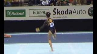 Sabina Cojocar 2002 World Championships Floor