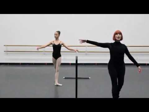 San Pedro Ballet School: Intermediate Ballet Class